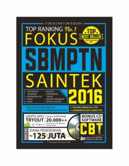 Top Rangking No 1 Fokus SBMPTN SAINTEK 2016