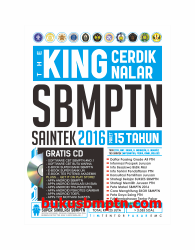 THE KING CERDIK NALAR SBMPTN SAINTEK 2016