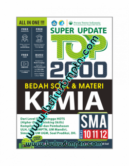SUPER UPDATE TOP 2000 BEDAH SOAL & MATERI KIMIA