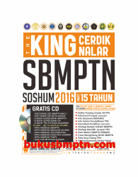 THE KING CERDIK NALAR SBMPTN SOSHUM 2016
